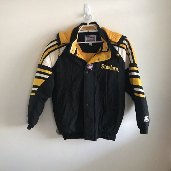 sneakers for cheap ffd7b 8e776 Vintage 90's Steelers starter jacket size Medium